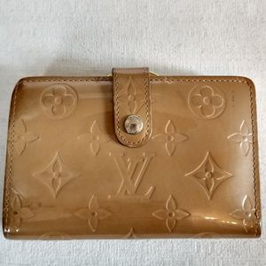 Louis Vuitton Vernis kisslock wallet